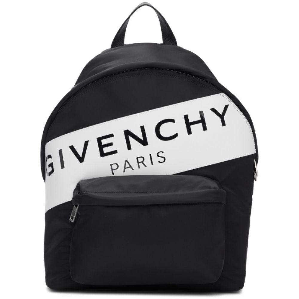 ジバンシー Givenchy メンズ バッグ バックパック・リュック【Black Band Logo Urban Backpack】