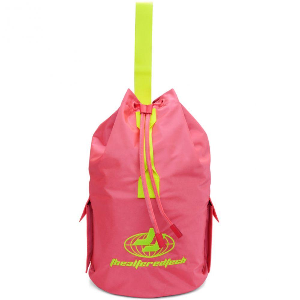 ジュン.J Juun.J メンズ バッグ バックパック・リュック【Pink Logo Backpack】