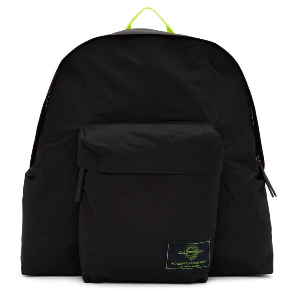 ジュン.J Juun.J メンズ バッグ バックパック・リュック【Black Nylon Backpack】