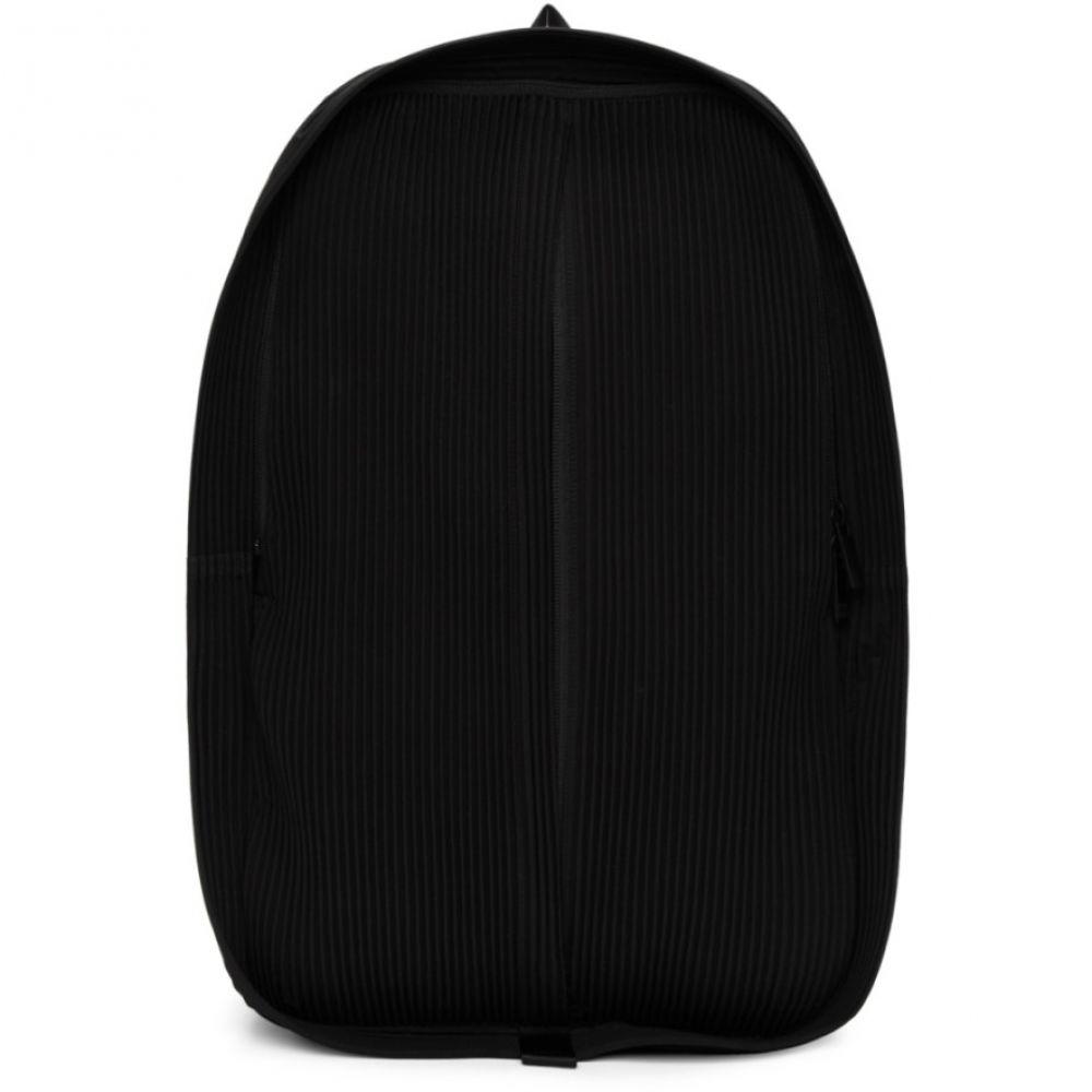 イッセイ ミヤケ Homme Plisse Issey Miyake メンズ バッグ バックパック・リュック【Black Pleated Day Backpack】