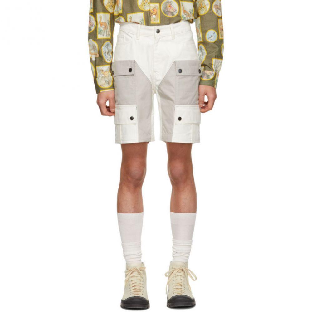 ピップス Phipps メンズ ハイキング・登山 ボトムス・パンツ【White Organic Waterproof Hiking Shorts】