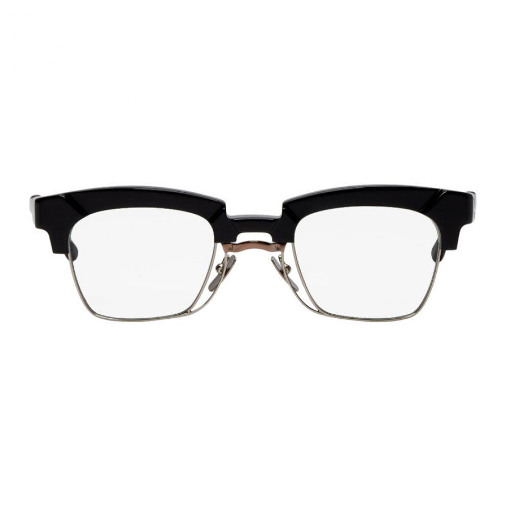 クボラム Kuboraum メンズ メガネ・サングラス【Black N6 BS Glasses】