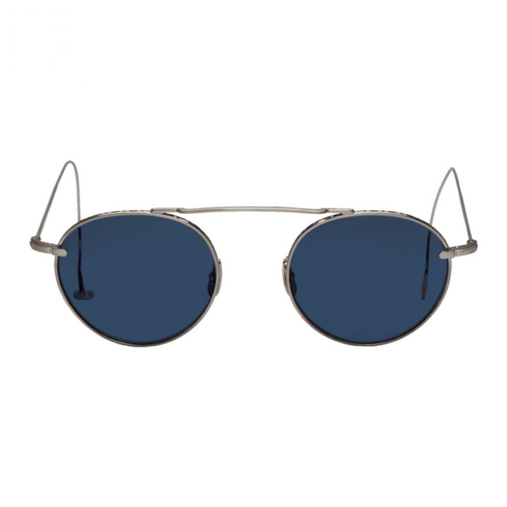 ミスター ライト Mr. Leight メンズ メガネ・サングラス【Silver & Blue Rei S 49 Sunglasss】