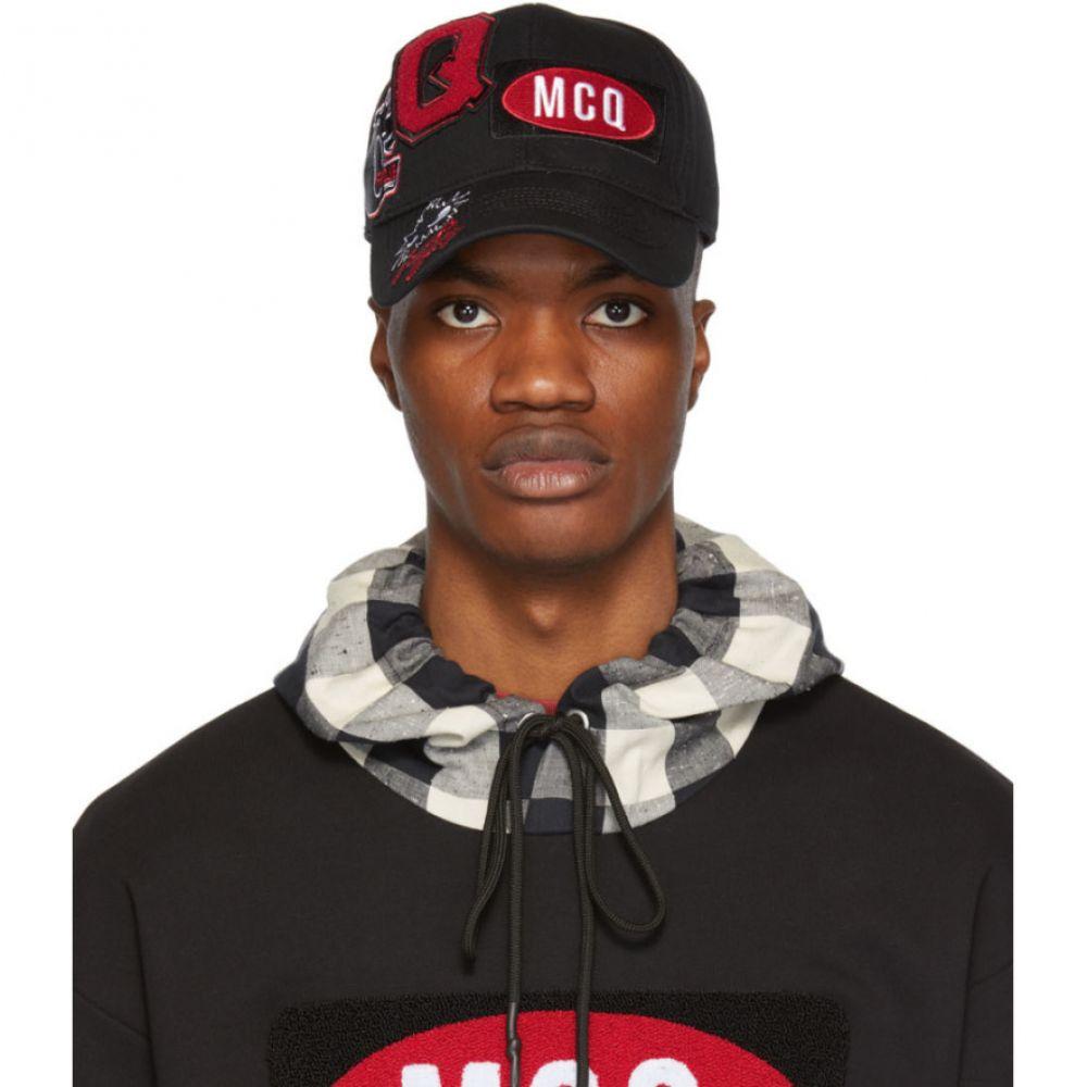 アレキサンダー マックイーン McQ Alexander McQueen メンズ 帽子 キャップ【Black Pyscho Billy Baseball Cap】