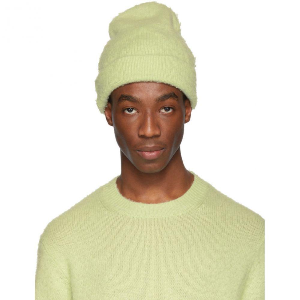 アクネ ストゥディオズ Acne Studios メンズ 帽子 ニット【Green Peele Beanie】
