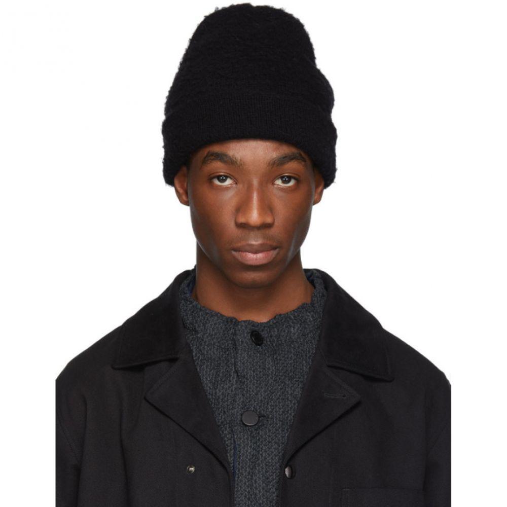 アクネ ストゥディオズ Acne Studios メンズ 帽子 ニット【Black Peele Beanie】