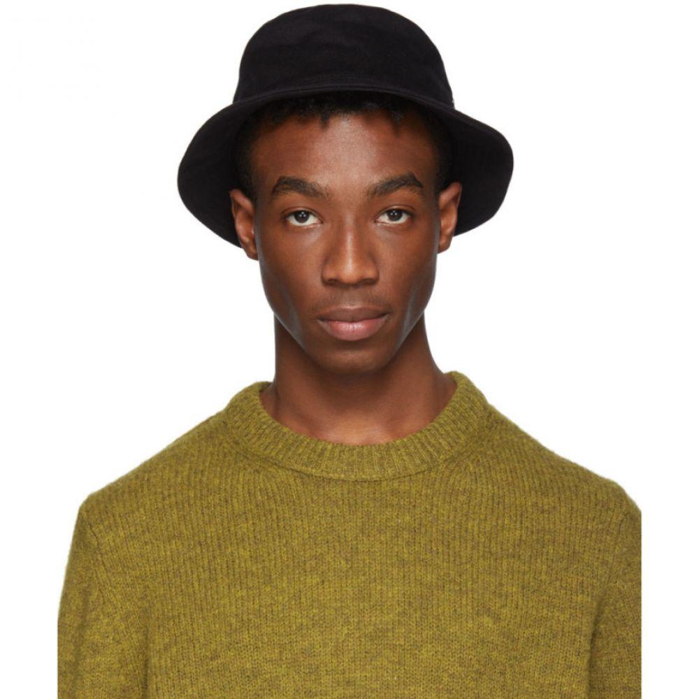 アクネ ストゥディオズ Acne Studios メンズ 帽子 ハット【Black Twill Buk A Bucket Hat】
