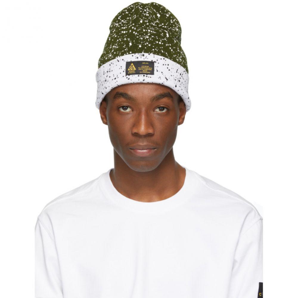 ナイキ Nike ACG メンズ 帽子 ニット【Reversible White & Green Errolson Hugh Edition ACG A14 Beanie】