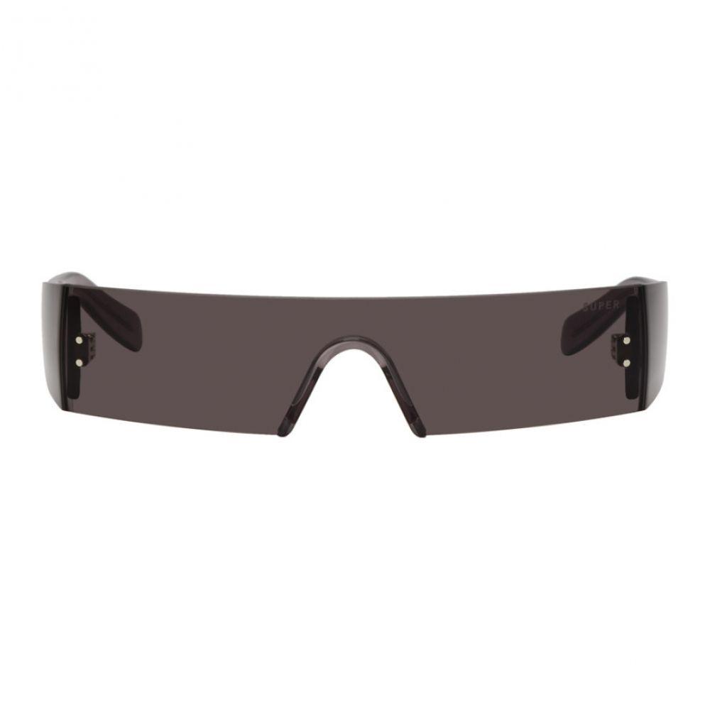 スーパー Super メンズ メガネ・サングラス【Black Vision Sunglasses】