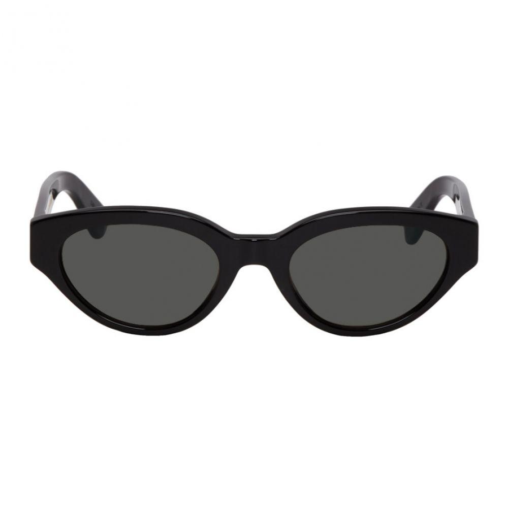 スーパー Super メンズ メガネ・サングラス【Black Drew Sunglasses】