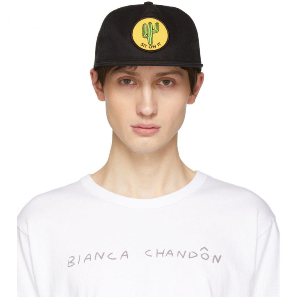 ビアンカシャンドン Bianca Chandon メンズ 帽子 キャップ【Black 'Sit on It' Cap】