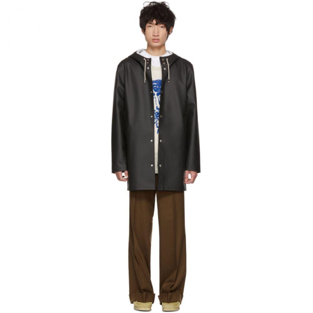 ストゥッテルハイム Stutterheim メンズ アウター レインコート【Black Stockholm Raincoat】