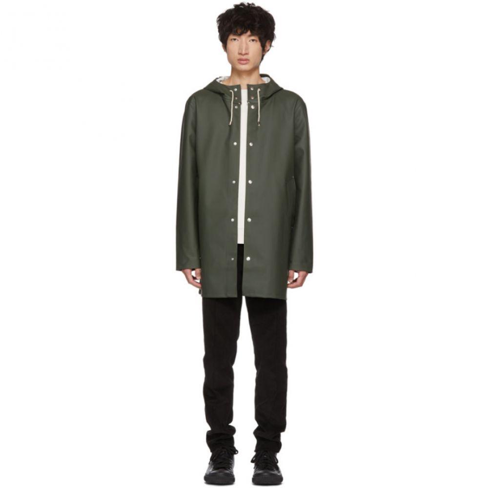 ストゥッテルハイム Stutterheim メンズ アウター レインコート【Green Stockholm Raincoat】