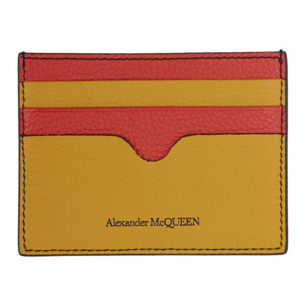 アレキサンダー マックイーン Alexander McQueen メンズ カードケース・名刺入れ【Multicolor Sunflower Card Holder】