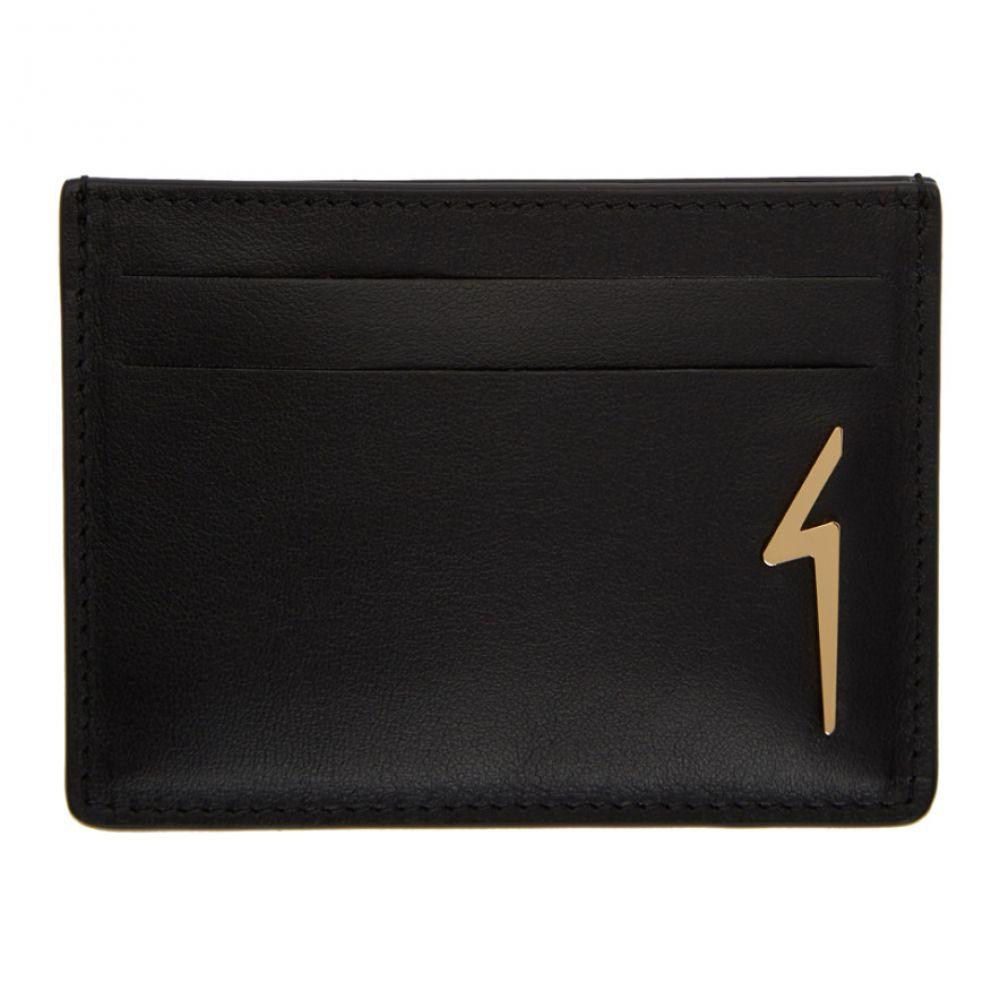 ジュゼッペ ザノッティ Giuseppe Zanotti メンズ カードケース・名刺入れ【Black Albert Flash Card Holder】