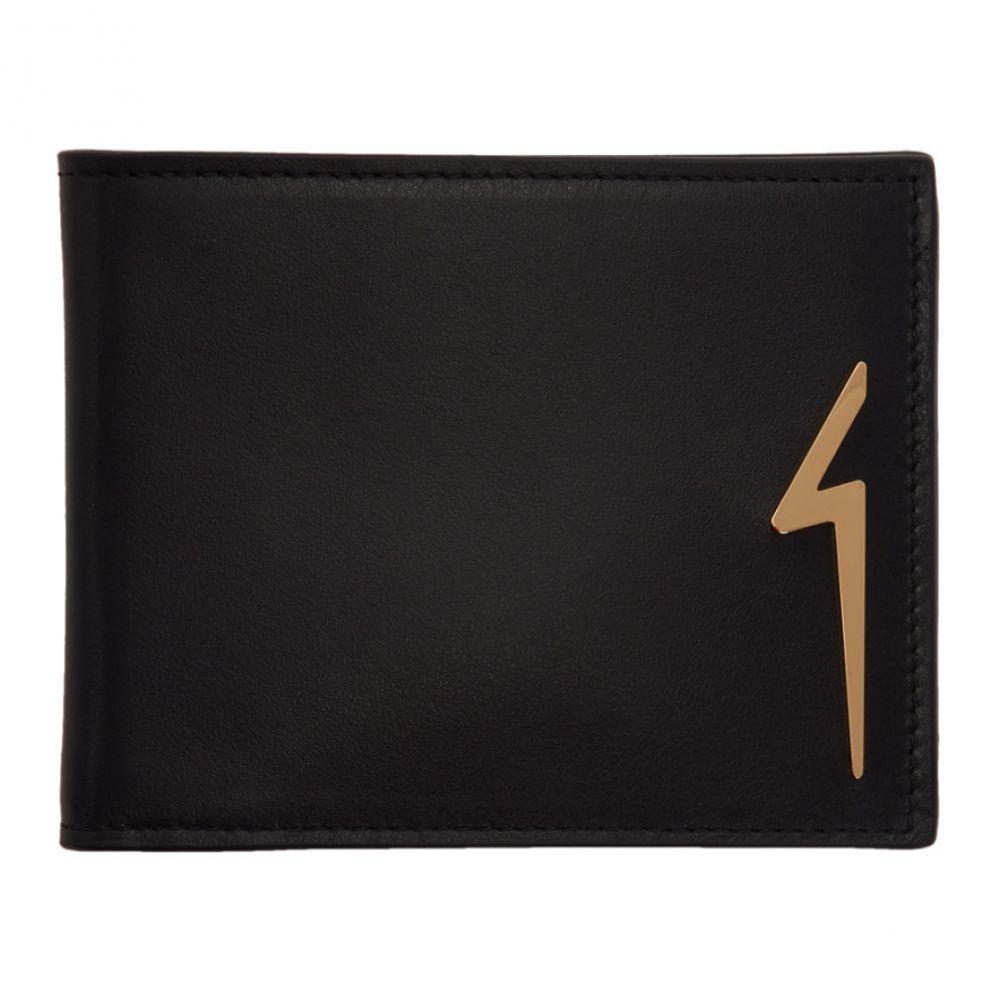ジュゼッペ ザノッティ Giuseppe Zanotti メンズ 財布【Black Albert Flash Wallet】