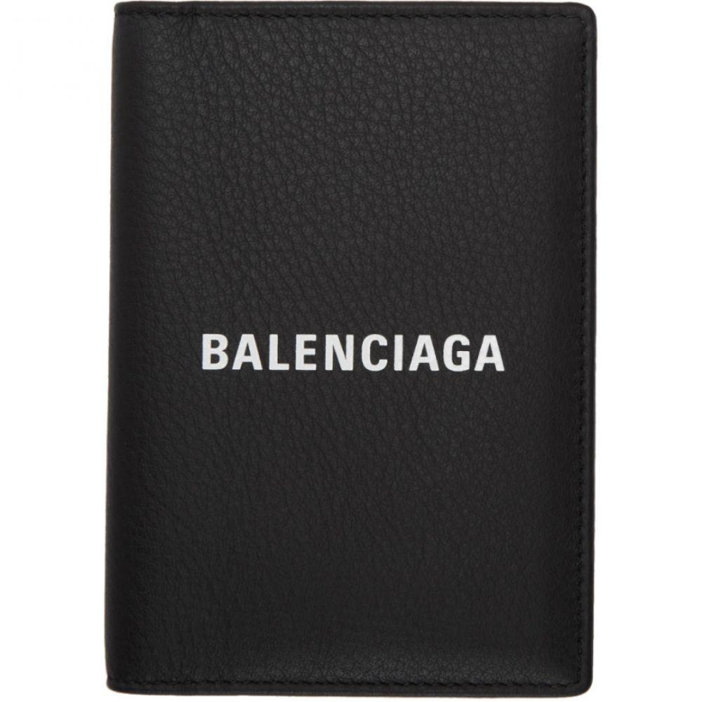 バレンシアガ Balenciaga メンズ パスポートケース【Black Everyday Passport Holder】