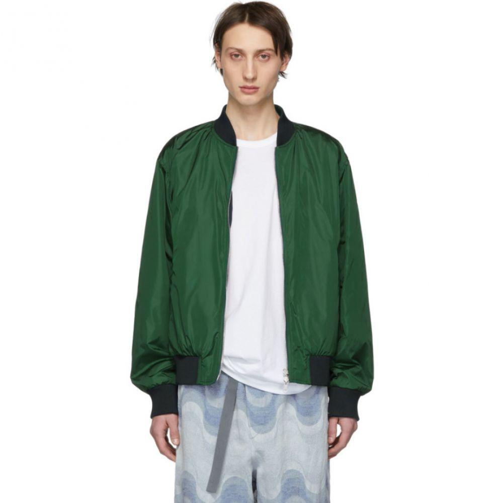 ドリス ヴァン ノッテン Dries Van Noten メンズ アウター ブルゾン【Reversible Green Volker Bomber Jacket】
