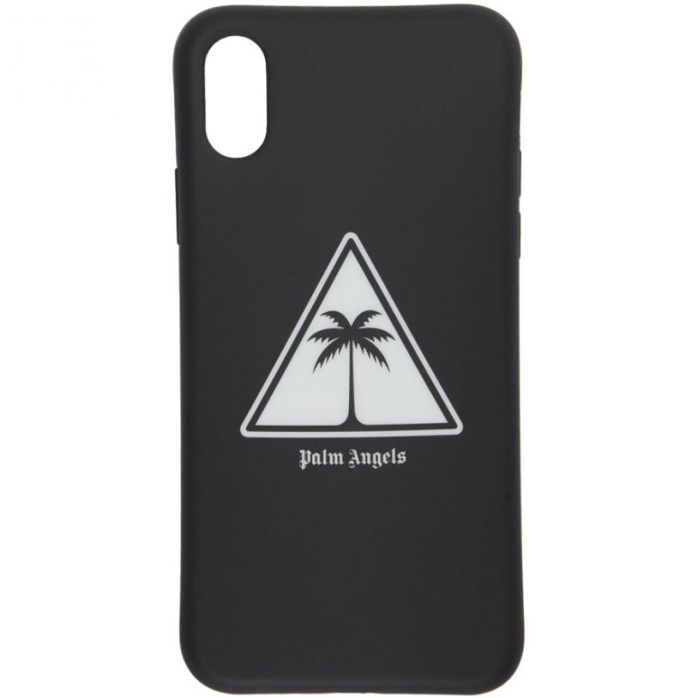 パーム エンジェルス Palm Angels メンズ iPhone (X)ケース【Black Palm Icon iPhone X Case】