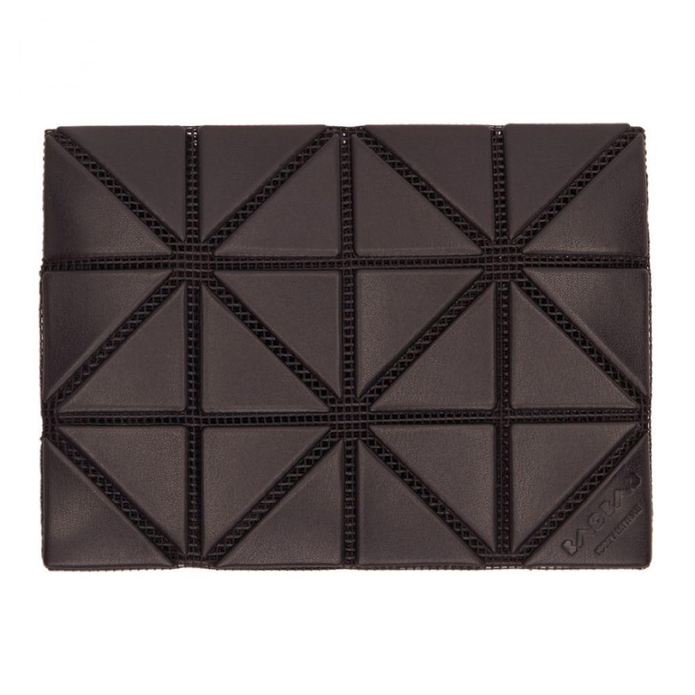 イッセイ ミヤケ Bao Bao Issey Miyake メンズ カードケース・名刺入れ【Black Matte Card Holder】