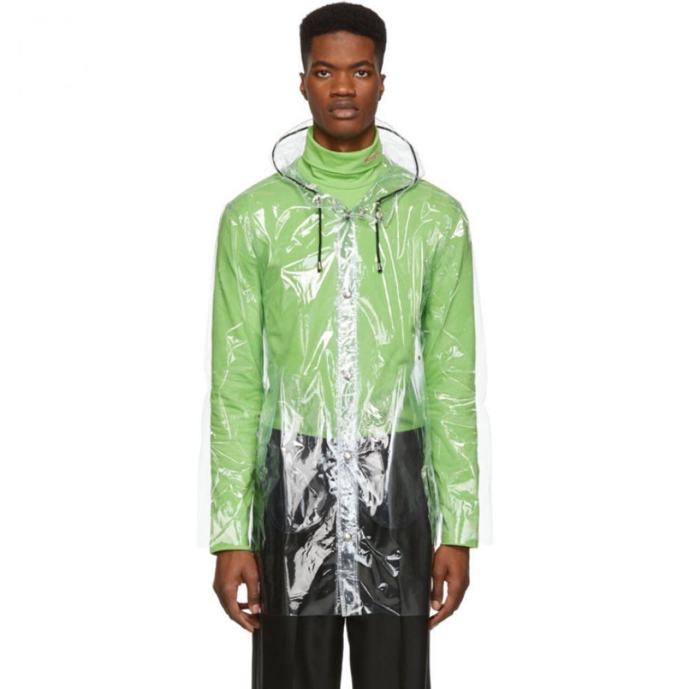 ストゥッテルハイム Stutterheim メンズ アウター レインコート【Transparent Stockholm Raincoat】