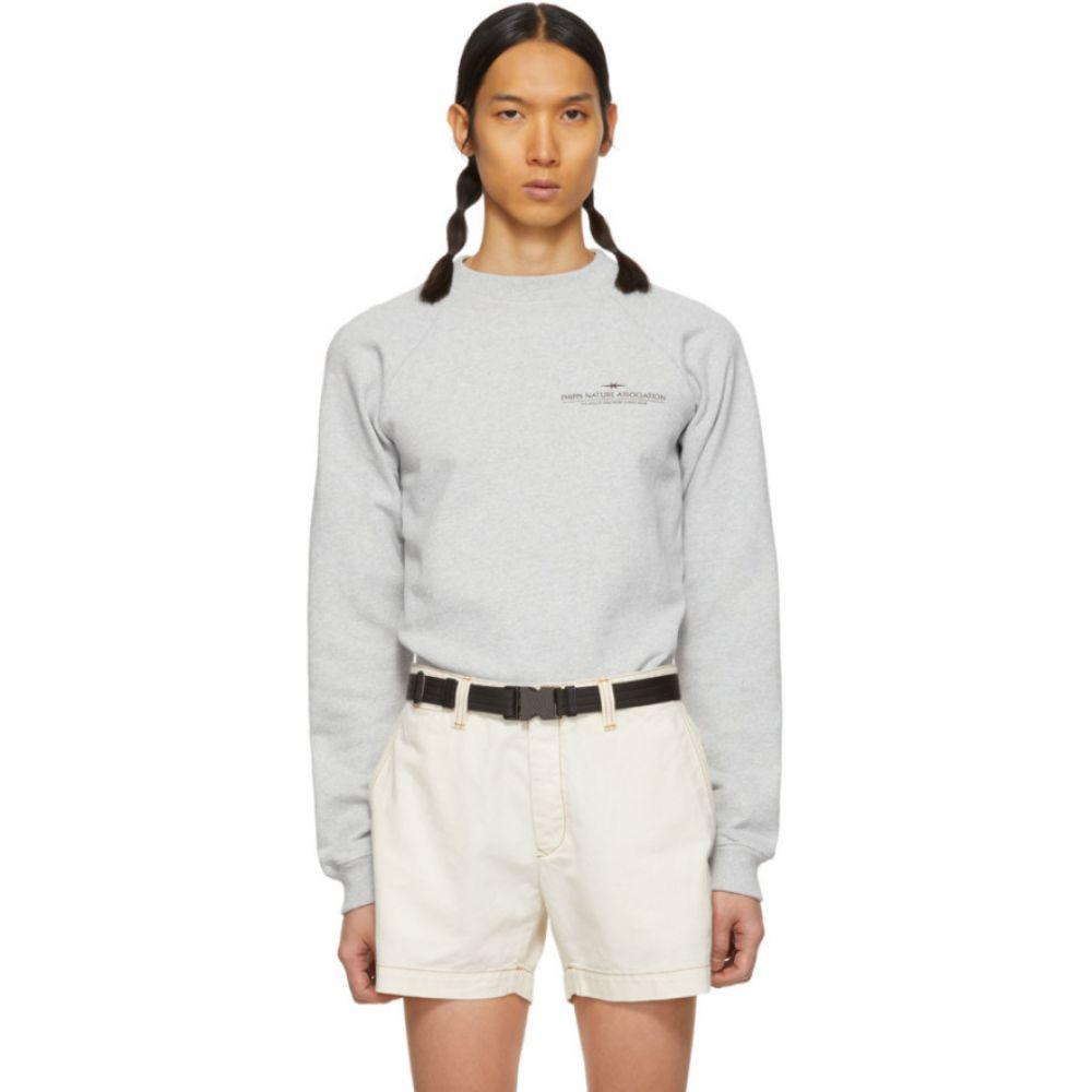 ピップス Phipps メンズ トップス スウェット・トレーナー【Grey Organic Nature Association Sweatshirt】