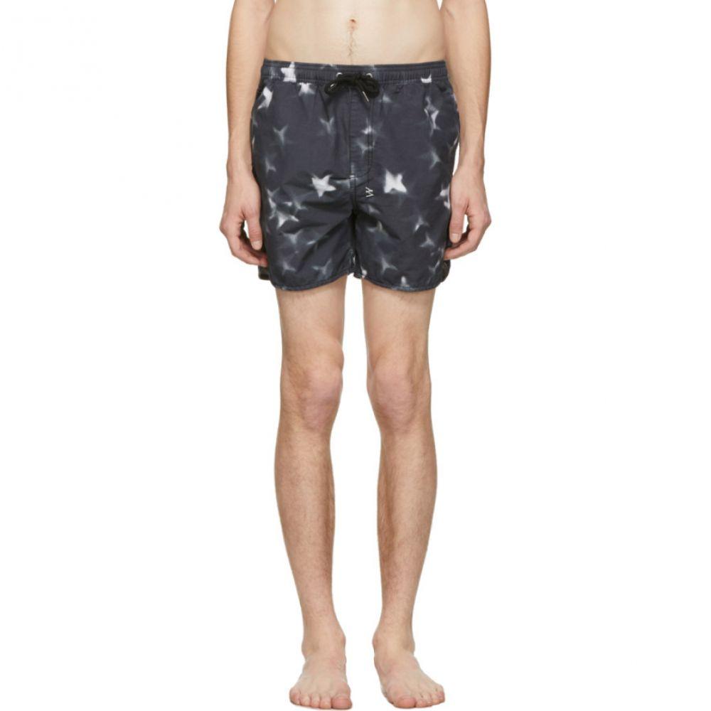 スビ Ksubi メンズ 水着・ビーチウェア 海パン【Black Starz Swim Shorts】