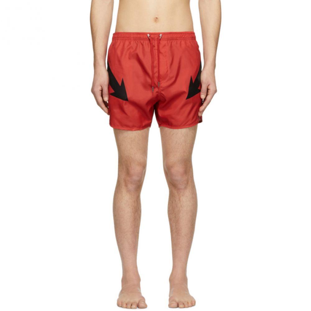 ニール バレット Neil Barrett メンズ 水着・ビーチウェア 海パン【Red Arrow Swim Shorts】