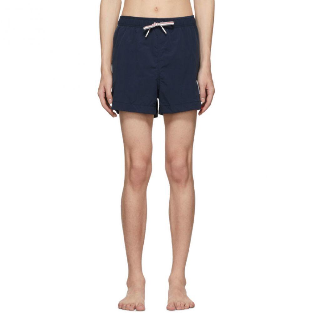 トム ブラウン Thom Browne メンズ 水着・ビーチウェア 海パン【Navy Drawcord Waist Swim Shorts】