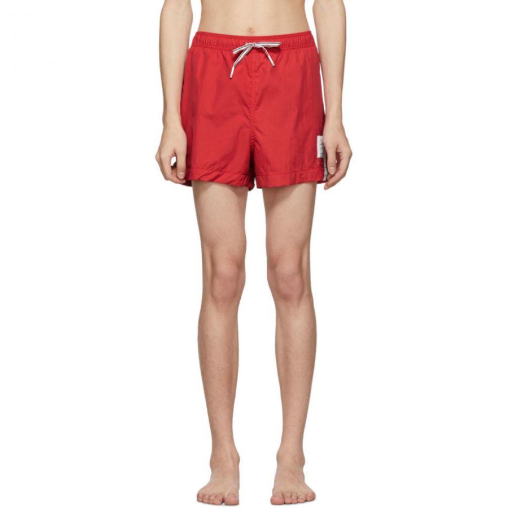 トム ブラウン Thom Browne メンズ 水着・ビーチウェア 海パン【Red Drawcord Waist Swim Shorts】