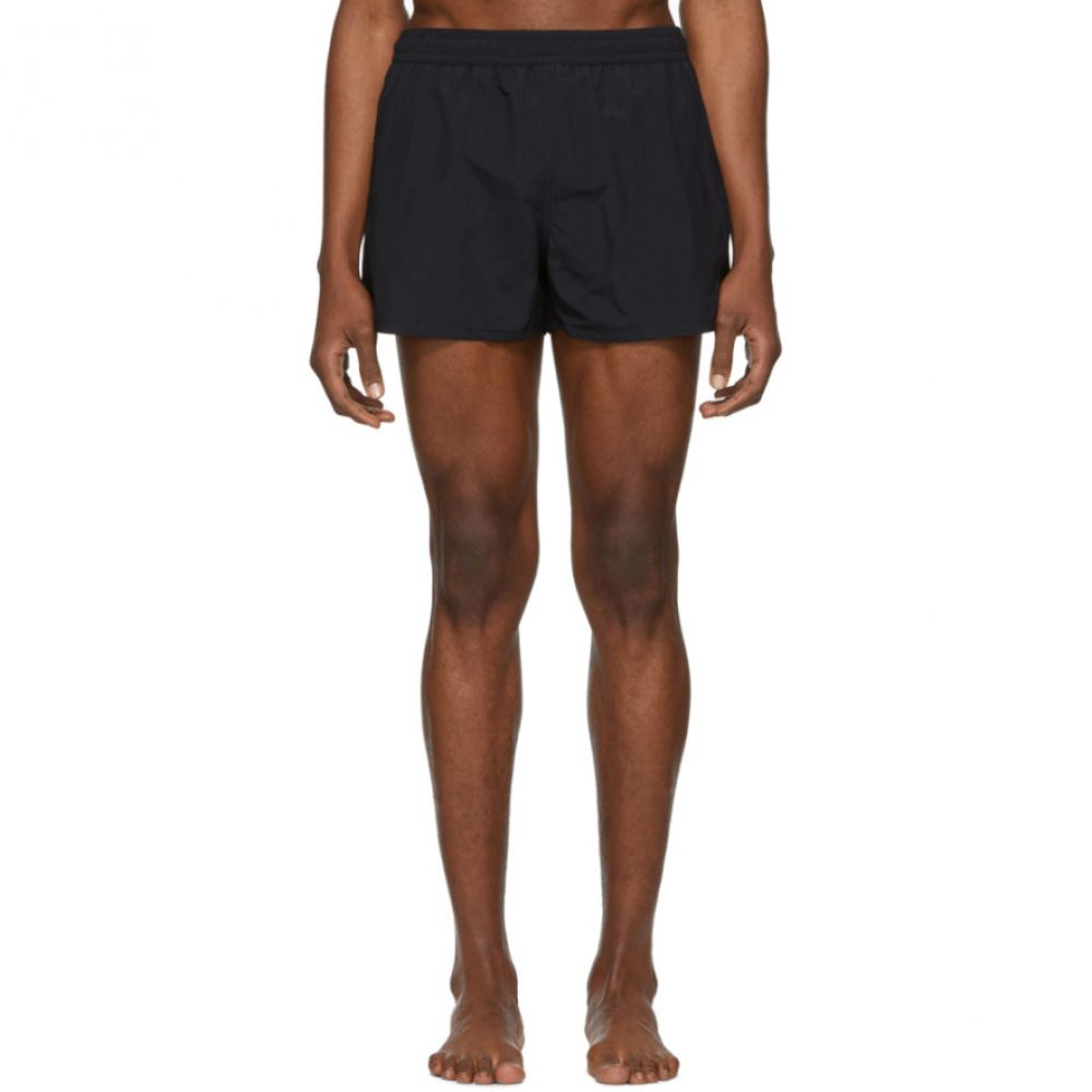 アミアレクサンドルマテュッシ AMI Alexandre Mattiussi メンズ 水着・ビーチウェア 海パン【Black Ami De Coeur Swim Shorts】