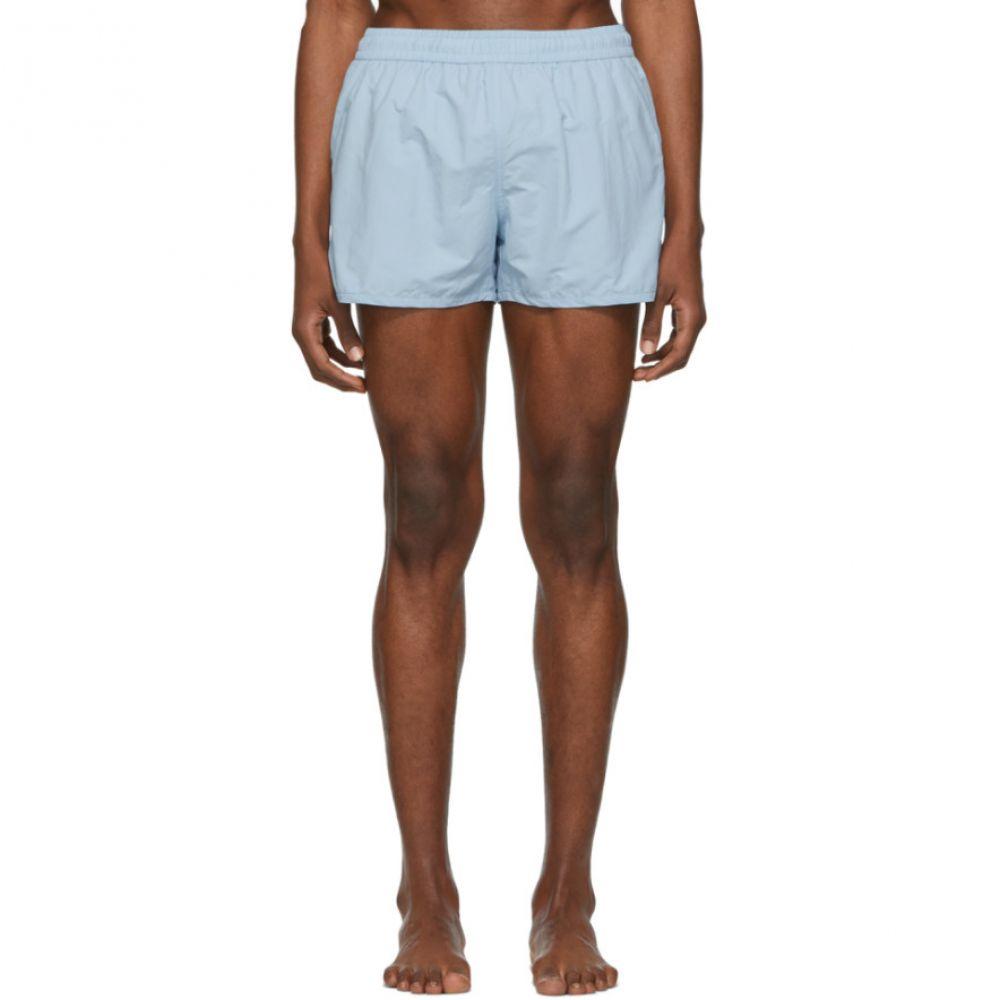 アミアレクサンドルマテュッシ AMI Alexandre Mattiussi メンズ 水着・ビーチウェア 海パン【Blue Ami De Coeur Swim Shorts】