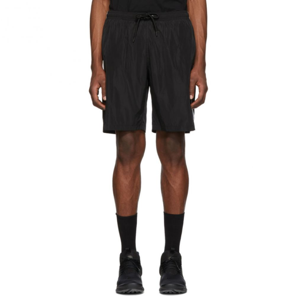 マルセロバーロン Marcelo Burlon County of Milan メンズ 水着・ビーチウェア 海パン【Black & Silver Muhammad Ali Edition Swim Shorts】