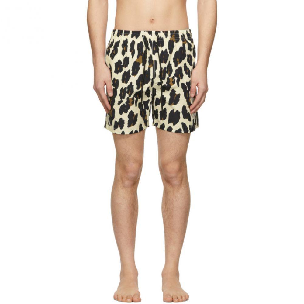 ソリッド&ストライプ Solid & Striped メンズ 水着・ビーチウェア 海パン【Off-White Leopard Classic Swim Shorts】