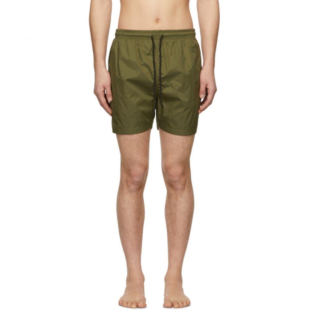 ソリッド&ストライプ Solid & Striped メンズ 水着・ビーチウェア 海パン【Green Classic Swim Shorts】