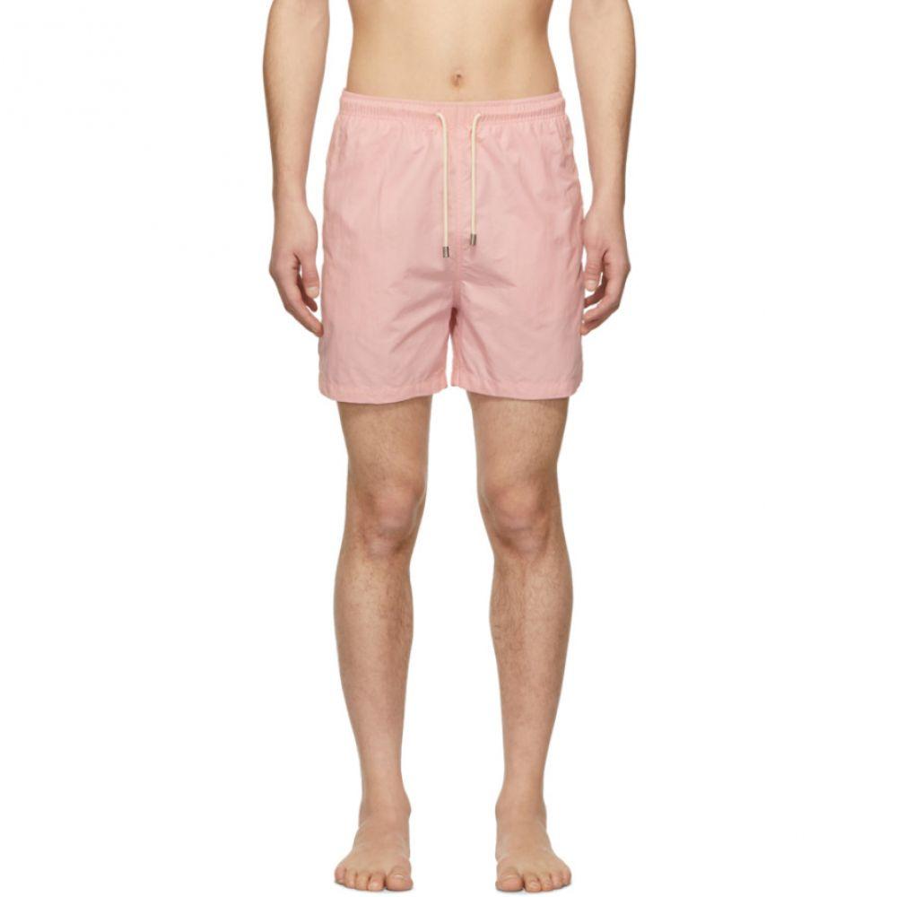 ソリッド&ストライプ Solid & Striped メンズ 水着・ビーチウェア 海パン【Pink Classic 'Solid' Swim Shorts】