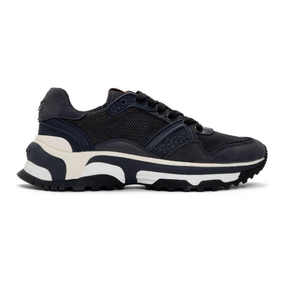コーチ Coach 1941 メンズ シューズ・靴 スニーカー【Navy Monochrome C143 Runner Sneakers】