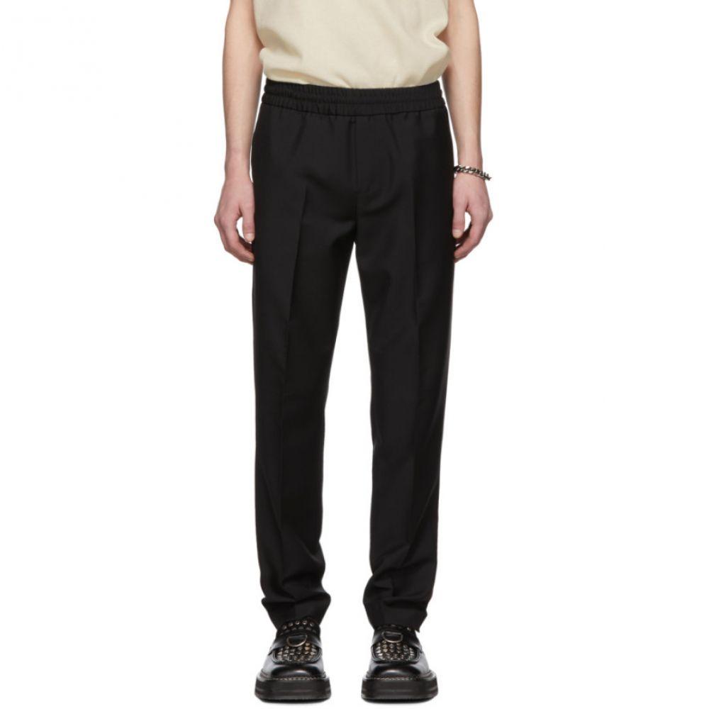 アクネ ストゥディオズ Acne Studios メンズ ボトムス・パンツ【Black Wool & Mohair Ryder Trousers】