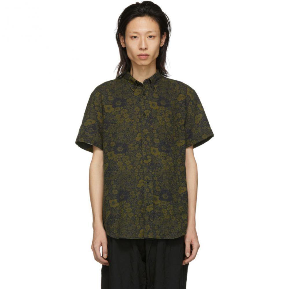 アクネ ストゥディオズ Acne Studios メンズ トップス シャツ【Navy & Green Isherwood Shirt】