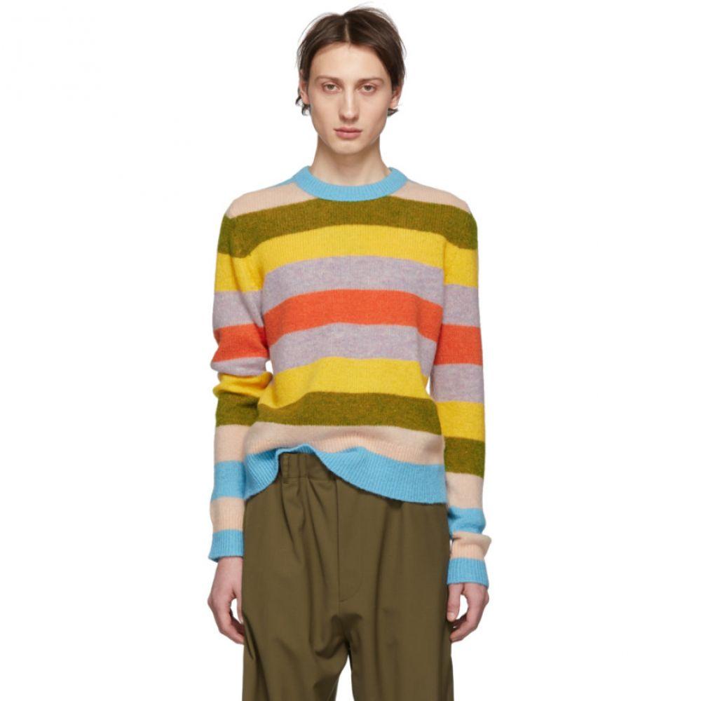 アクネ ストゥディオズ Acne Studios メンズ トップス【Multicolor Mix Stripe Kai Sweater】