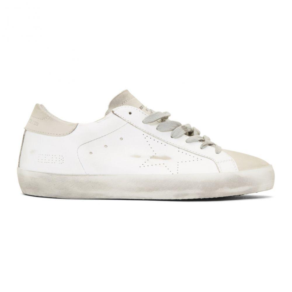 ゴールデン グース Golden Goose メンズ シューズ・靴 スニーカー【White & Grey Skate Superstar Sneakers】