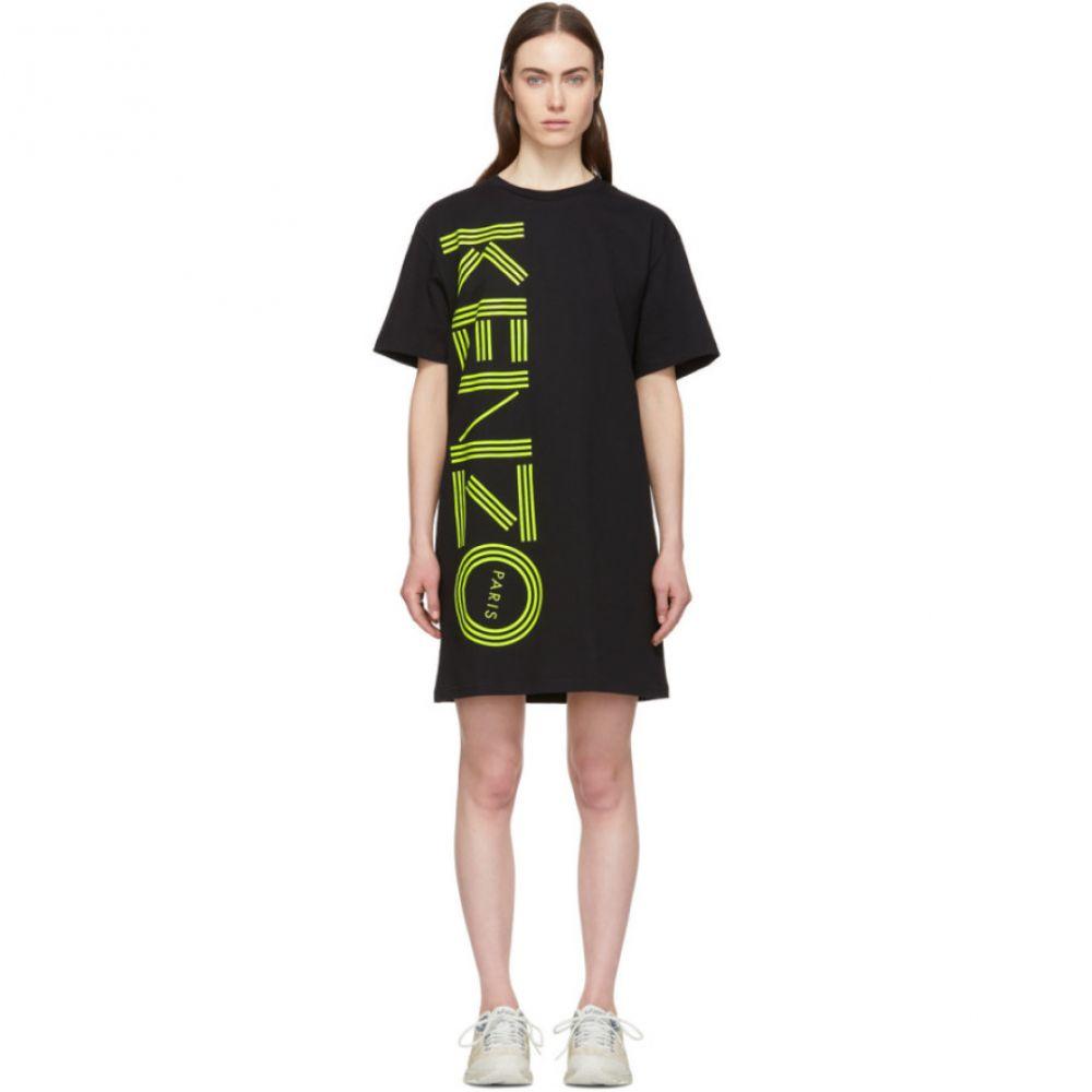 ケンゾー Kenzo レディース ワンピース・ドレス ワンピース【Black Logo T-Shirt Dress】