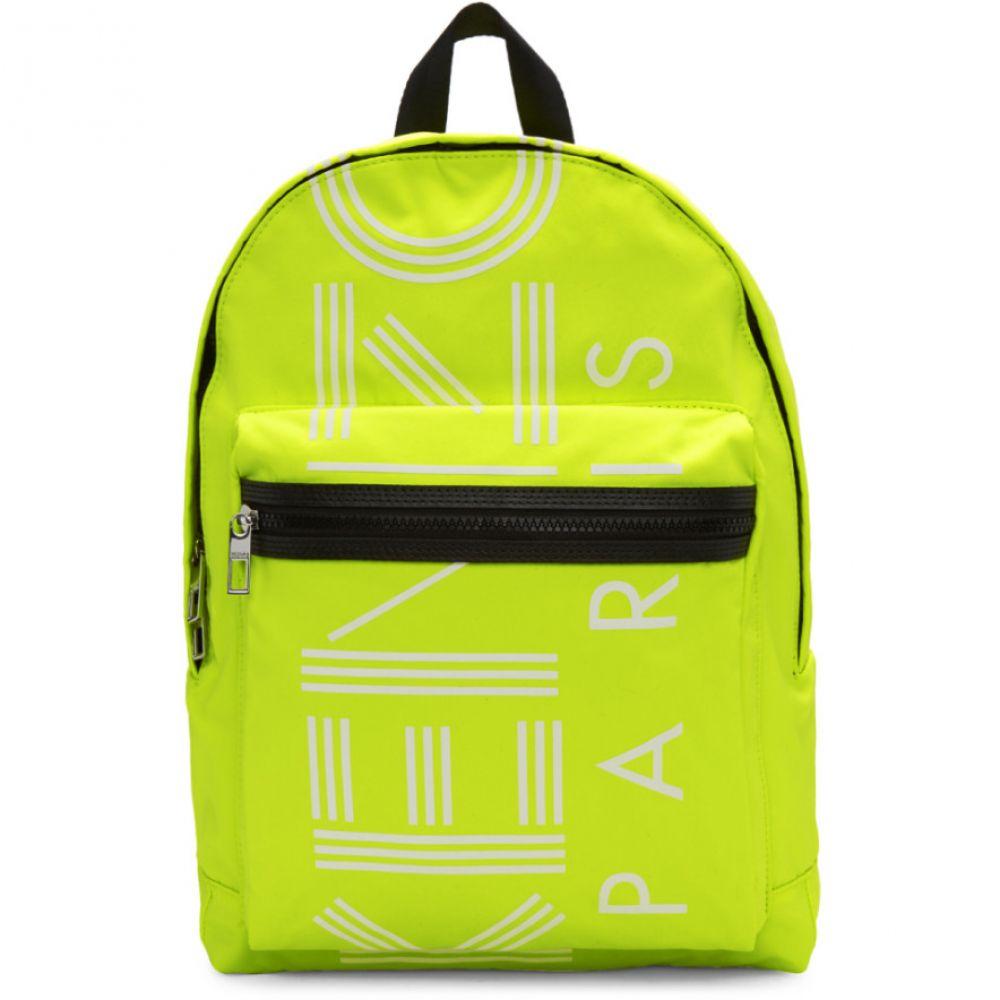 ケンゾー Kenzo メンズ バッグ バックパック・リュック【Yellow Large Logo Backpack】