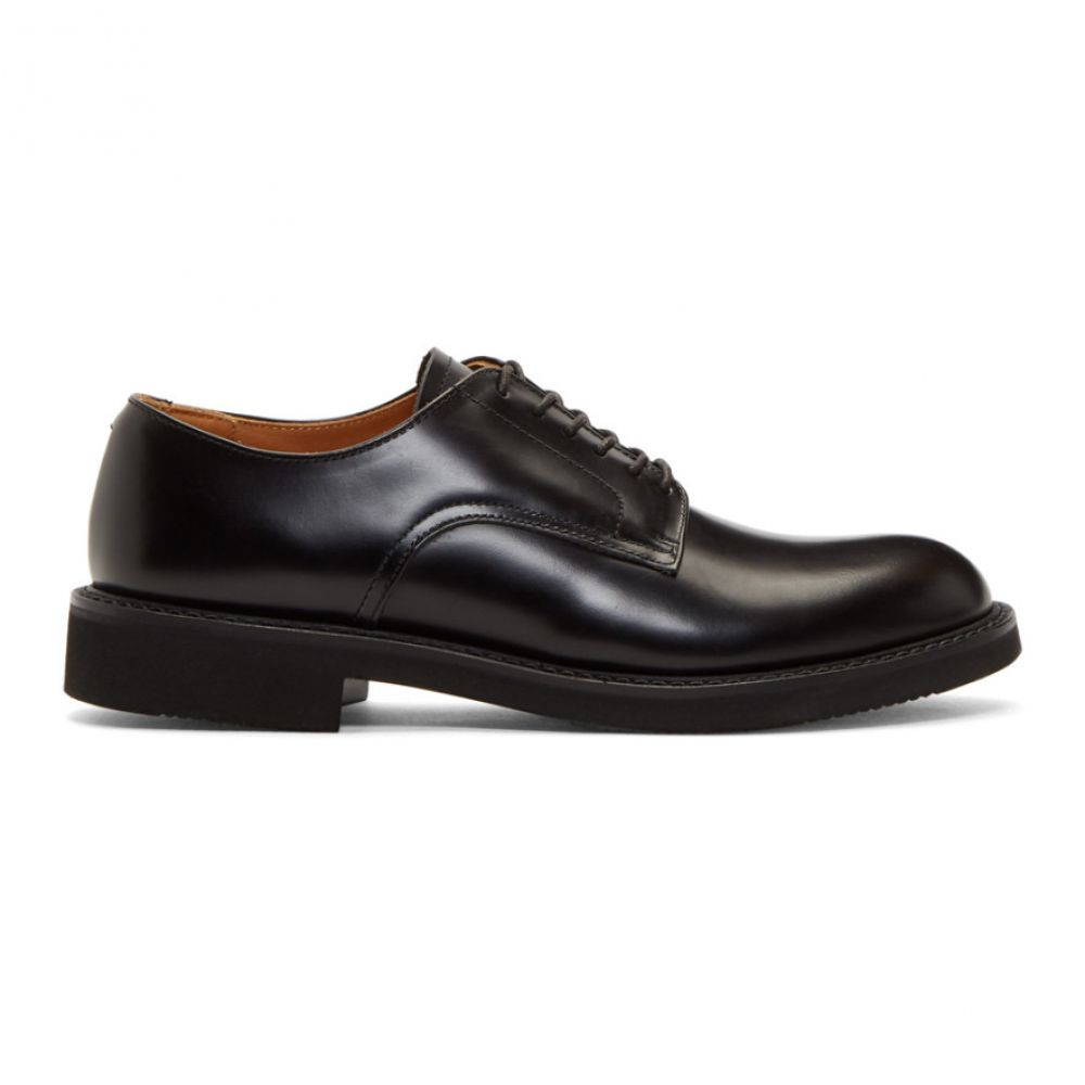 コム デ ギャルソン Comme des Garcons Homme メンズ シューズ・靴 革靴・ビジネスシューズ【Black Lace-Up Derbys】