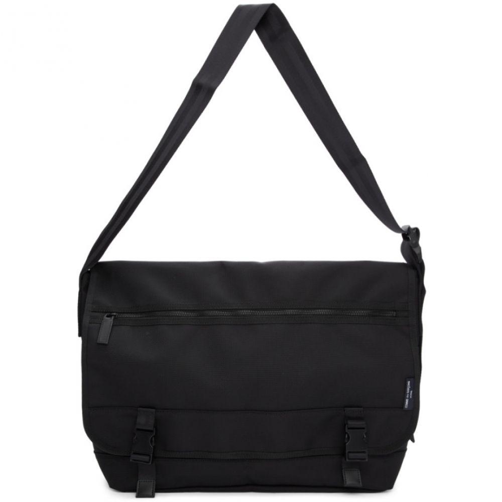 コム デ ギャルソン Comme des Garcons Homme メンズ バッグ メッセンジャーバッグ【Black Nylon Canvas Messenger Bag】