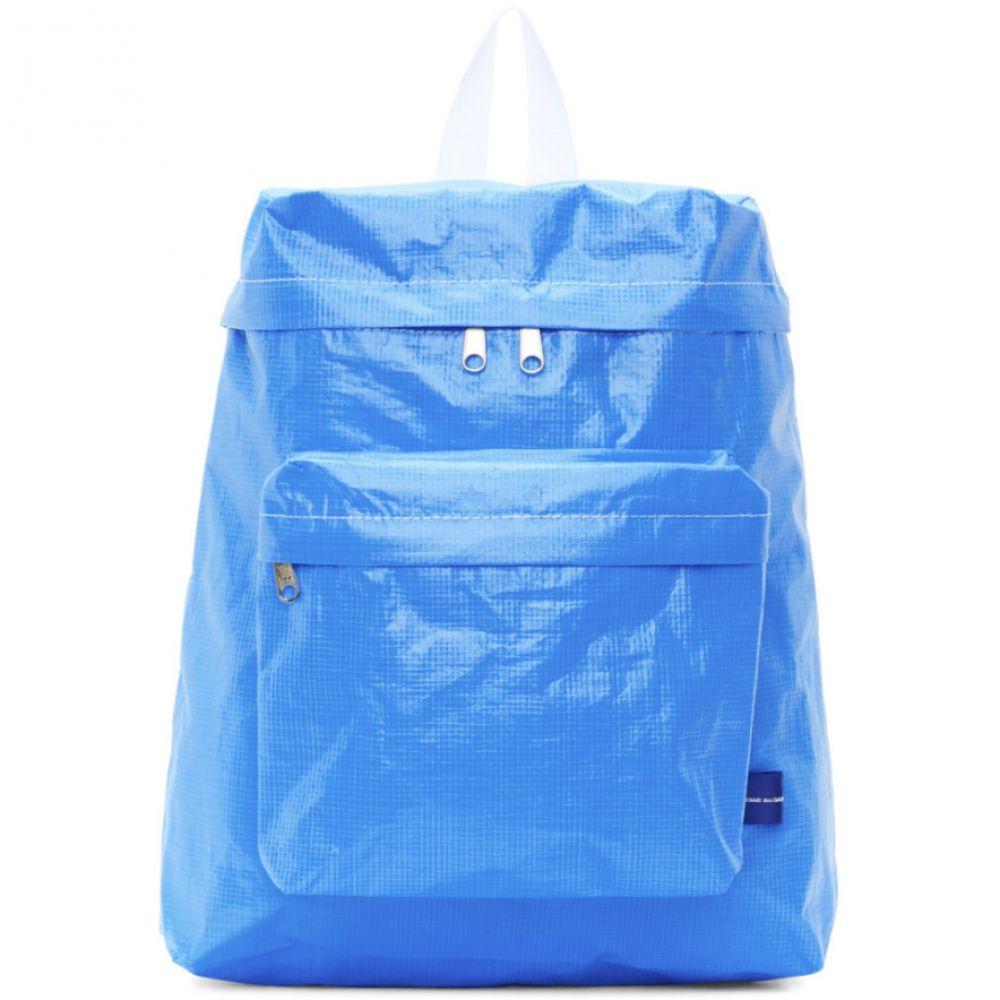 b73a1b6c13a3 Blue デ garcons バックパック バックパック Poly ギャルソン shirt ...