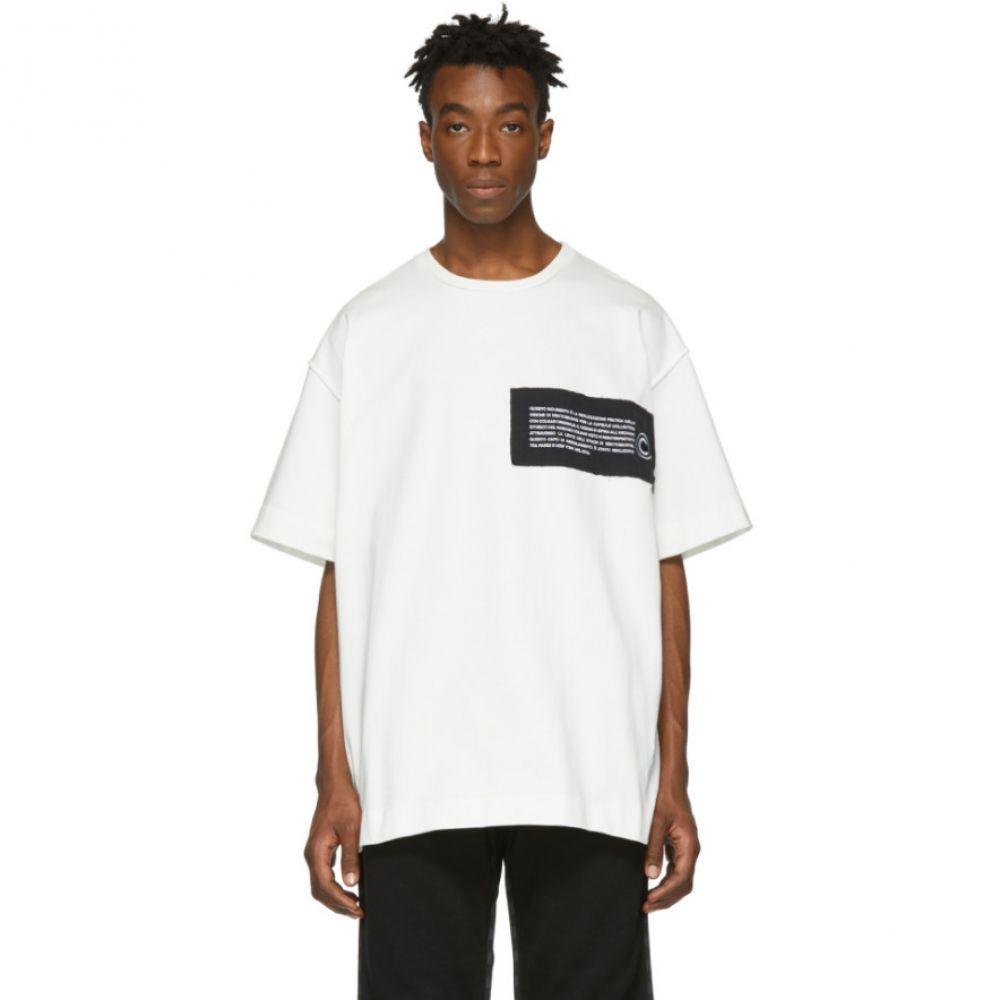 コルマール Colmar A.G.E. by Shayne Oliver メンズ トップス Tシャツ【White Logo Patch Inside Out T-Shirt】