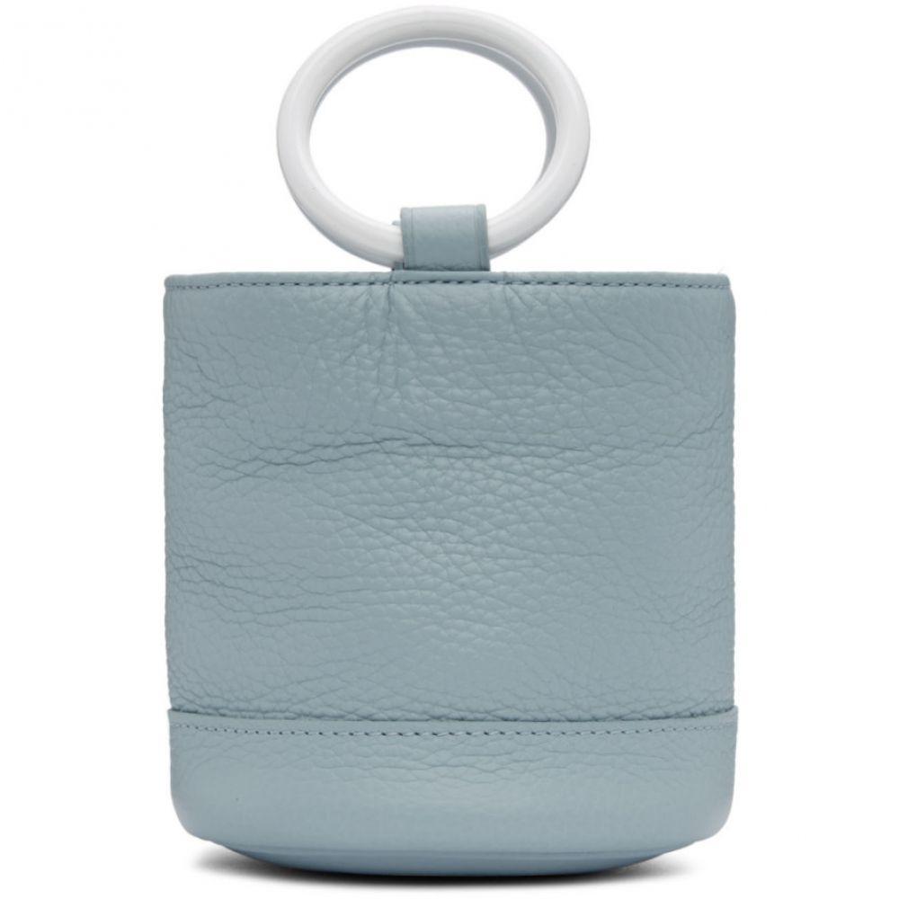 サイモンミラー Simon Miller Miller レディース Simon バッグ ハンドバッグ【Blue Small 15 Bonsai 15 Bag】, パラニーニョ フォーマルスタイル:ca7fed16 --- sunward.msk.ru