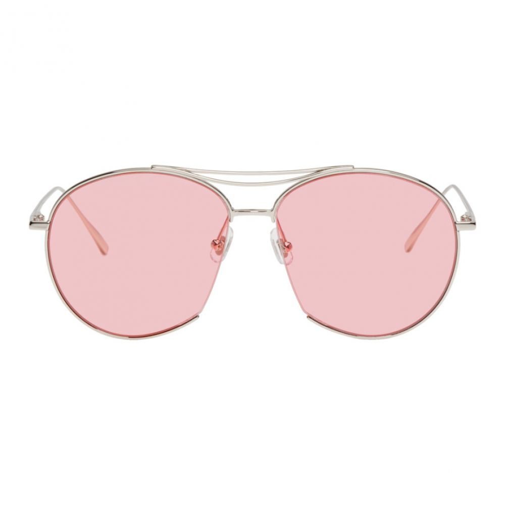 ジェントルモンスター Gentle Monster レディース メガネ・サングラス【Silver & Pink Jumping Jack Sunglasses】