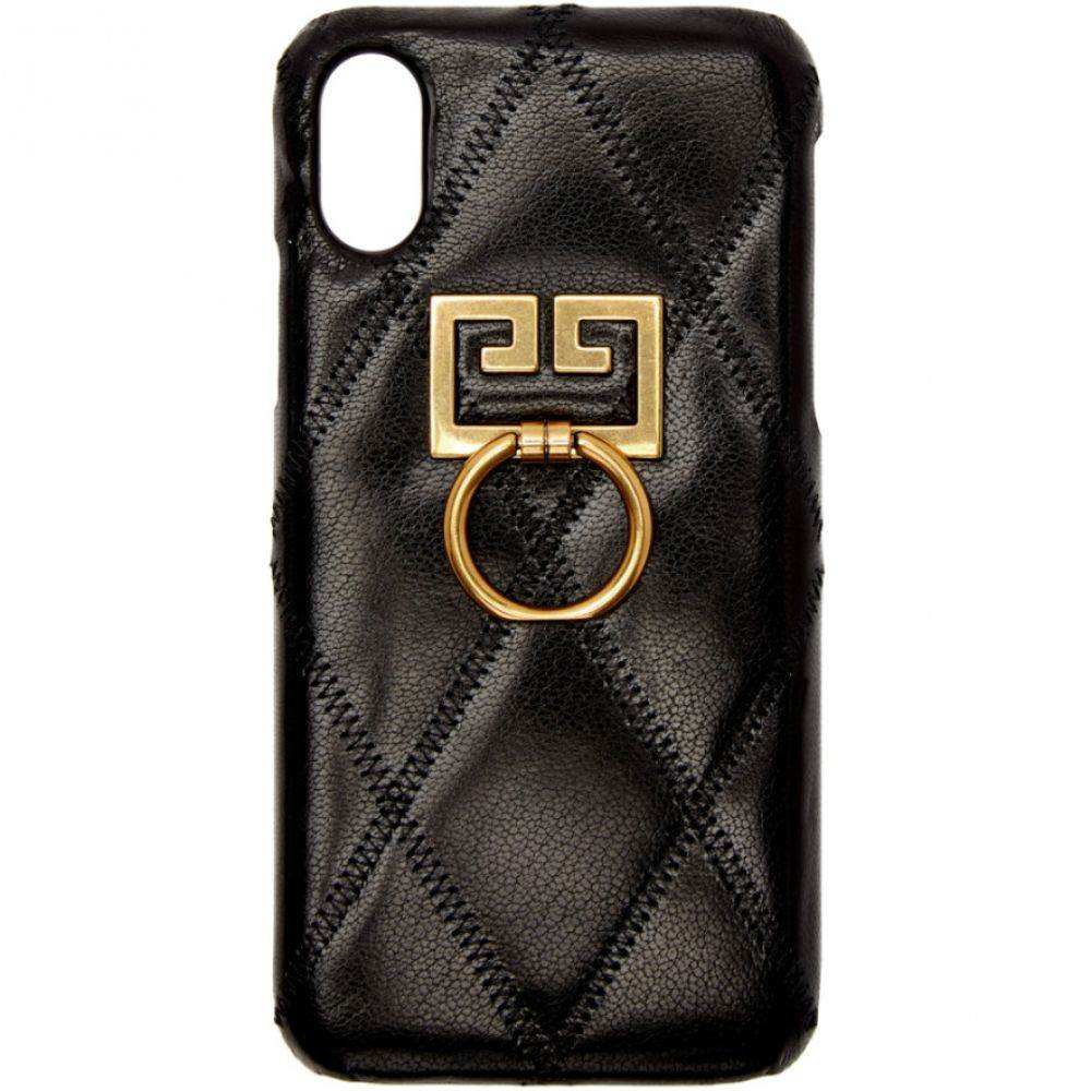ジバンシー Givenchy レディース iPhone (X)ケース【Black Diamond Quilted iPhone XS/X Case】